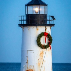 Lighthouse, Salem, Mass., December 2018