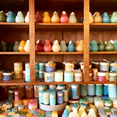 Gift shop candles, Portsmouth, N.H., April 2016