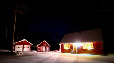 Real estate shoot, Shelburne, December 2016