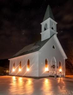 Church, Shelburne, N.H., December 2016